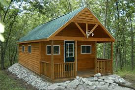 cabin porch cabins van wyk wood builders