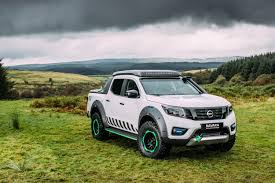 nissan navara 2018 nissan emergency truck concept electric car battery for rescue power