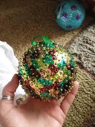 rockin u0027 and lovin u0027 learnin u0027 monday made it sequined ornaments