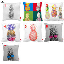 Pineapple Home Decor Watercolor Seamless Sketch Pop Art Pineapple Print Custom Car Sofa