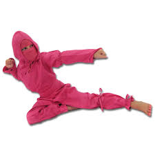 Ninja Halloween Costumes Girls Kids Pink Ninja Uniform Childs Pink Ninja Girls Pink