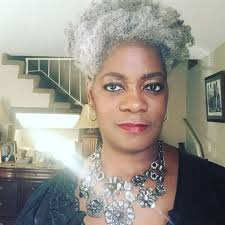 beautiful black woman with gray hair essence com