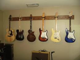 How To Hang A Picture Perfect Design How To Hang A Guitar On The Wall Bright Hanging
