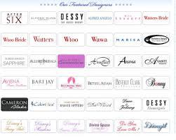 wedding dress brands list of wedding dress designers mini bridal