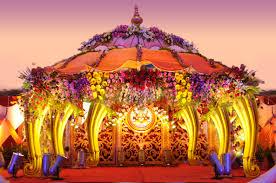 Mandap Decorations Wedding Flower Decorators And Mandap Decorators Reception Stage