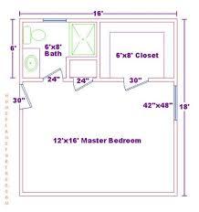 master suite floor plan stunning master bedroom and bath floor plans including closet