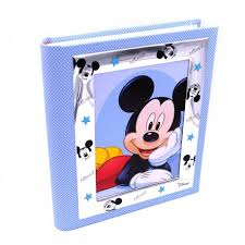mickey mouse photo album blue photo album mickey mouse disney baby by valenti argenti