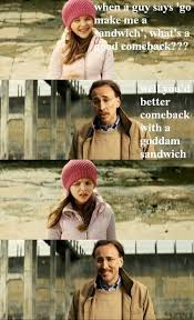 Make Me A Sandwich Meme - make me a sandwich comeback really funny pictures collection on