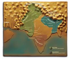 Ancient India Map The World Author Amish