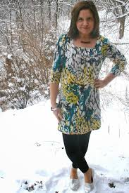 fashion over fifty is it a short dress or a long top amy u0027s