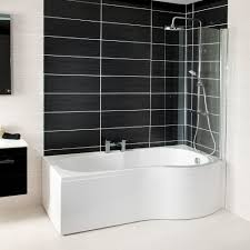shower baths walk in corner d l p shape shower bath styles cassellie tempest p shape shower bath with screen and front panel