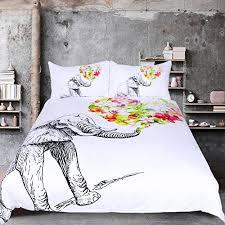 Elephant Print Comforter Set Elephant Comforter Set Amazon Com
