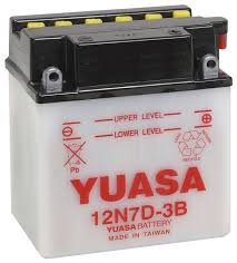 amazon com yuasa yuam227db 12n7d 3b battery automotive