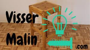tabouret de cuisine en bois comment faire un tabouret de bar ep04