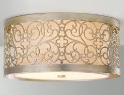 feiss fm339slp arabesque flush mount ceiling fixture