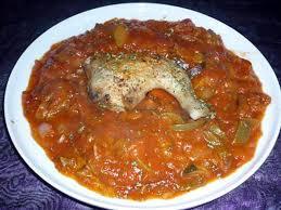 cuisine poulet basquaise recette de poulet basquaise express
