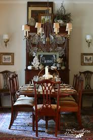 southern dining rooms thanksgiving tablescape our southern home