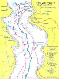 China Camp Trail Map by Yosemite Historic Maps Yosemite Library Online