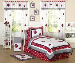 Girls Bedding Sets Queen by Little Red White Black Ladybug Girls Bedding Twin Or Full Queen