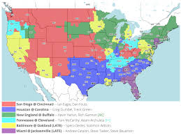 Map Buffalo It U0027s Back Your Friendly Neighborhood Coverage Map For Week 2 V