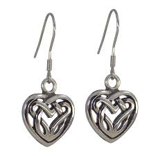 stainless steel earrings hypoallergenic celtic knot hypoallergenic stainless steel earrings