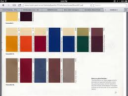 vw paint colors westy project pinterest paint color codes