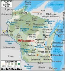 map of oregon wi where is wi wisconsin map worldatlas