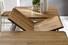 Esszimmer Aus Eiche Massivholz Esstisch Erweiterbar 160 220x95 Nordic Home Kiefer