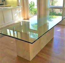 custom glass table top near me glass table tops round clear glass table top modern furniture within