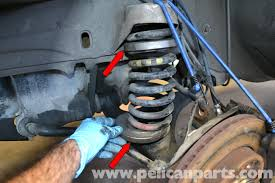 car suspension spring mercedes benz 190e front strut and spring replacement w201 1987