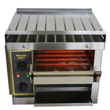 Conveyor Belt Toaster Oven Roller Grill Conveyor Toaster 550 Slices Ct540 Stainless Steel
