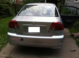 2005 honda civic trunk a 2005 trunk lid and rear bumper cover will fit a 2001 honda