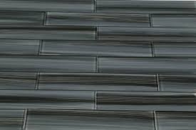 Grey Bathroom Tile by 2x12 Glass Tile Kitchen Bathroom Tile Black Gray Bamboo Hand