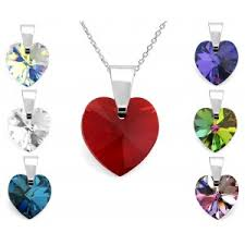 s day pendants three s day small heart pendants with chain silver 925
