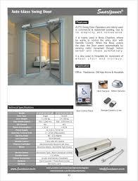 Auto Glass Door by Glass Sensor Door Hermitically Sealed Hospital Door