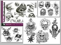 professional series 2 book on skulls illustration