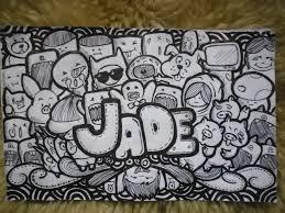 doodle name arts jade doodle by shadowknight213 on deviantart