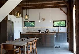 edelstahl küche schlichte küchen aus edelstahl esstisch aus holz kücheninsel holz