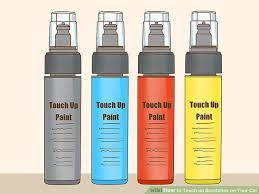 How To Match Car Paint Without Code 3 Ways To Touch Up Scratches On Your Car Wikihow