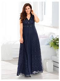 robe de soir e mari e robe de soirée longue en dentelle bleu marine robes de soirée