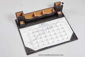leather desk calendar planner wauis417
