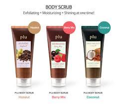 Plu Scrub plu walnut scrub berry mix for moisturizing exfoliating buy