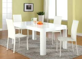 dining room table and bench round white dining room table set and coloured chairs 6 with black