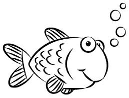 fish coloring pages printable cartoon fish drawings free printable fish coloring pages clip