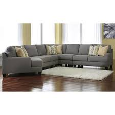 chamberly 5 piece sectional with laf cuddler in alloy nebraska