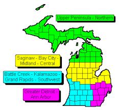 michigan area code map zip code wall maps archives swiftmaps com