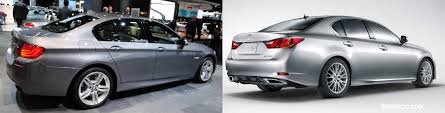 lexus gs vs audi a6 2016 photo comparison bmw 5 series vs 2013 lexus gs 350