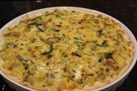 lorraine cuisine quiche lorraine with leek and smoked bacon recipe all recipes uk