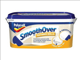 Painting Over Textured Wallpaper - polycell smooth over textured wallpaper 5 litre amazon co uk diy