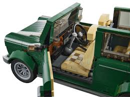 lego mini cooper porsche bouw nu je eigen klassieke mini cooper van lego autoblog nl